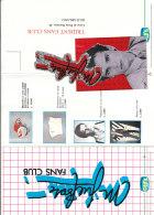B1774 - Brochure FANS CLUB MIGUEL BOSE' + ADESIVO Tutto Musica Anni '80 - Musica & Strumenti