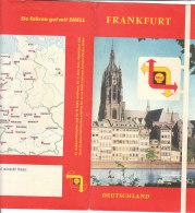 B1792 - CARTINA MAP SHELL - DEUTSCHLAND - FRANKFURT - Carte Topografiche