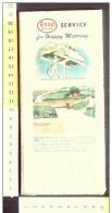 B1795 - CARTINA ROAD MAP ESSO Anni '50 - ARKANSAS LOUISIANA - Carte Stradali