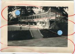 1950 1956 Solarium De La Pouponnière Grande Photo Batiment Architecture Verre Moderne - Places