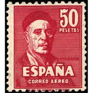 ES1016STV-LFT***1016S.España.Spain.Pintor.IGNACIO DE ZULOAGA.1947. (Ed 1016**) - 1931-50 Nuevos & Fijasellos