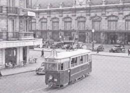 ACACF 120T - Ancien Tramway Devant La Gare De Bordeaux-Saint-Jean (33) - - Tramways