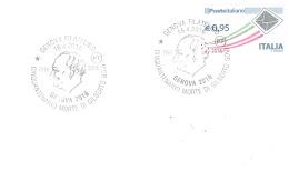 Italie-Genova Filatelico-16/4/2016-Cinquantenario Morte De Gilberto Govi - Kino