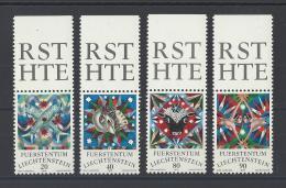 LIECHTENSTEIN  . YT  599/602  Neuf **  Signes Du Zodiaque  1976 - Liechtenstein