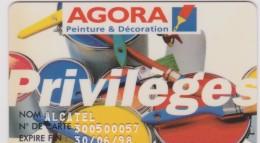 Télécarte :   Agora   Peinture - Frankreich