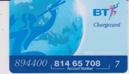 Télécarte :  Royaume  Uni :  BT - Non Classés