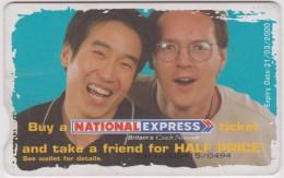 Télécarte :  Royaume  Uni :  National   Express Pepsi - Non Classés