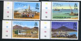 2000 - ASCENSION ISLAND -  Mi.  Nr. 832/835 -  NH - ( **) - (G-EA-371689.7) - Ascensione