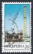 Albania-1971 Industry- Superphosphate Factory, Lac - - Yt:AL 1294C - -very Rare-used - Albanie