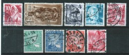 Germany Allied Occupation Rhineland Selection Of 9 Different Stamps. - Zone Française