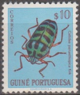 GUINÉ-1953, Insectos Da Guiné,  $10  D. 11 1/2  * MH  Afinsa  Nº 271 - Portuguese Guinea