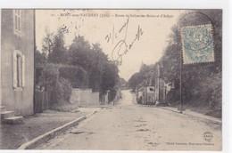 Jura - Mont-sous-Vaudrey - Route De Salins-les-Bains Et D'Arbois - Non Classés
