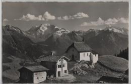 Die Kapelle Bettmeralp Ob Betten - Hübschhorn, Weissmies, Fletschhorn, Mischabel - Photo: E. Gyger - VS Valais