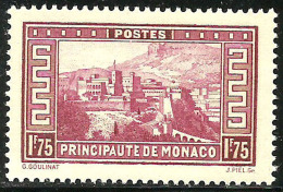 Monaco - Paysages De La Principauté - N° 128A Neuf Sans Charnière. - Monaco