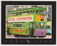 HONG KONG - Tramway - CPM - Cina (Hong Kong)