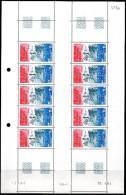 TAAF - YT PA N° 84 Feuille De 10 Coin Daté - Neufs ** - MNH - Cote: 60,50 € - Poste Aérienne