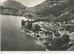 Angon & Le Lac D'Annecy : Camp De La Chapelle Saint Claude (peche Barques ) N°406 Cellard Aérienne Neuve) - Other Municipalities