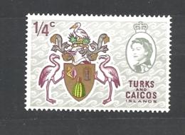 TURKS & CAICOS    1969 Local Motives With Queen Elizabeth II  MNH - Turks E Caicos
