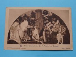 Sint MICHIELSCOLLEGE Brussel ( Thill ) Eerste Communie Van Den H. Aloysius Van Gonzaga - 19?? ( Zie Foto Voor Details ) - Ecoles