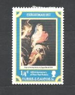 TURKS & CAICOS    1977 Christmas - The 400th Anniversary Of The Birth Of Peter Paul Rubens, 1577-1640 MNHINGED - Turks E Caicos
