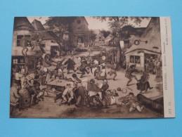 BRUEGHEL - Kermesse FLAMANDE ( 172 ) Musée D'Anvers - Anno 19?? ( Zie Foto Voor Details ) - Museum