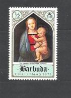 BARBUDA  1971 Christmas MNH** - Antigua E Barbuda (1981-...)