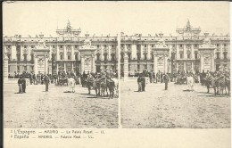 ESPANA , MADRID , Palacio Real ; L' ESPAGNE , MADRID , Le Palais Royal , Stéréoscopique ANIMEE - Madrid