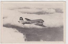 Douglas DC-2 Der Swiss Air Line (HB-ITO) - Photokarte     (P4-10324) - 1946-....: Era Moderna