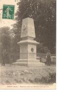 Guitry- Monument élevé Aux Défenseurs Morts En 1870 - France