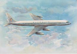"THENE TRANSPORT AVIATION AVIONS    "" ALITALIA DOUGLAS DC 8 ""  N°"