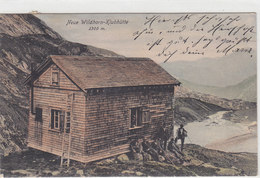 Wildhorn-Clubhütte - Grossaufnahme, Animiert - 1905    (P4-10402) - BE Berne