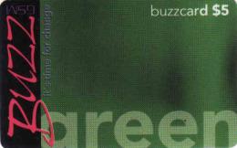 Tanzanie - Buzzcard 5$ Prepaid, Green - Tanzania