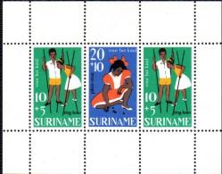 BF145 - SURINAME , Foglietto Pro Infanzia ***  MNH - Suriname