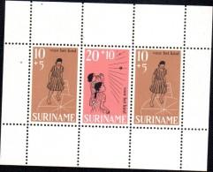 BF147 - SURINAME , Foglietto Pro Infanzia ***  MNH - Suriname
