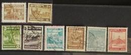 Bangladesh 1978 - 1982 Lot 8 Stamps Used Transport Gas Mohastan Agriculture - Bangladesh