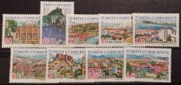 Turkey, 2008, Mi: 3689/97 (MNH) - 1921-... République