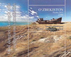 Uzbekistan 2016 Aral Sea Aral See Schiffe Ship Dromedar Dromedary MNH ** - Uzbekistan