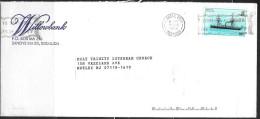 1992 Bermuda Postal History, 30 Jan 1992, 18 Cent Shipwreck, Madiana Stamp - Bermudes
