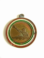 1952 Ricordo Campionati Italiani  Di Fondo    SPORT  CANOA   GARA   MEDAGLIA   MEDAL  Come Da Foto - Remo