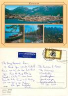 Lecco, CO Como, Italy Postcard Posted 2003 Stamp - Como