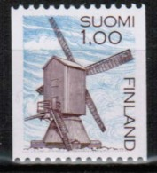 1983 Finland Wind Mill From Roll With Number MNH. - Finland