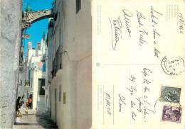 Locorotondo, BA Bari, Italy Postcard Posted To Malta 1965 Stamp - Bari