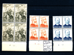 BELGIAN CONGO STANLEY LEOPOLD II COB 274/76 MNH - 1947-60: Neufs