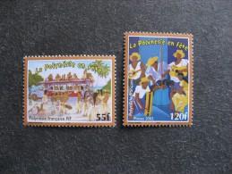 Polynésie: TB Paire N° 680 Et N° 681, Neufs XX. - Neufs