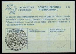 UNITED NATIONS VIENNA UNO WIEN UMWELTGIPFEL +5  30.05.97 On Int. Reply Coupon Reponse IRC IAS Antwortschein La25 - Umweltschutz Und Klima