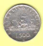 ITALIE  ITALIA,  500 L De 1958  **2 Scannes - 1878-1900 : Umberto I