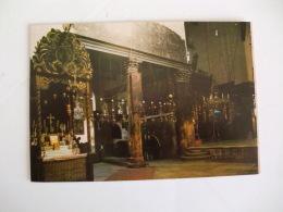 Postcard Postal Jordan Bethlehem Church Of Nativity