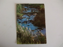 Postcard Postal Jordan The Jordan River