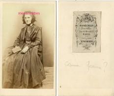 CDV Famille KIEN-Césarine MESSIAN ? épouse De François KIEN Photo Mainberger à Paris - Ancianas (antes De 1900)