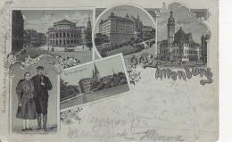 AK Gruss Aus Altenburg - Litho - Mehrbildkarte - 1900 (25264) - Altenburg